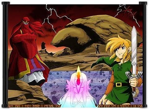 Legend Of Zelda: Un vínculo con el pasado Juego de tela Póster de pared (21