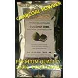 Activated Charcoal Powder 100% Pure Food Grade 4oz - Premium Raw Coconut Carbon Bulk - More Effective than Hardwood Activated Charcoal - 100% Natural - Use for Teeth Whitening, Digestion, Detox
