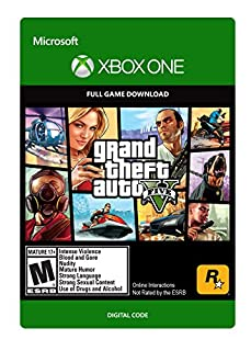 Grand Theft Auto V - Xbox One [Digital Code] (B00WY2G178) | Amazon price tracker / tracking, Amazon price history charts, Amazon price watches, Amazon price drop alerts