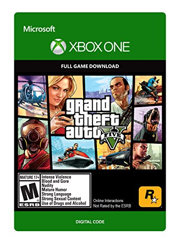 Grand Theft Auto V Xbox One Digital Code (Large Image)
