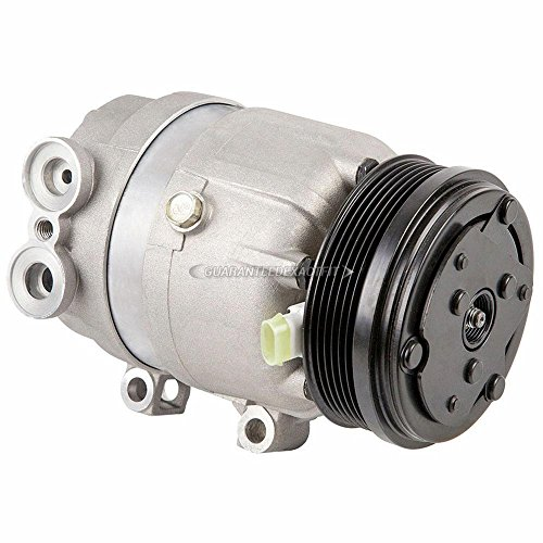 AC Compressor & A/C Clutch For Oldsmobile Intrigue 1999 2000 2001 2002 - BuyAutoParts 60-00981NA NEW