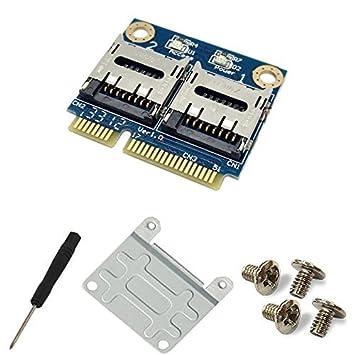 Amazon.com: Dual Adaptador de lector de tarjeta de memoria ...
