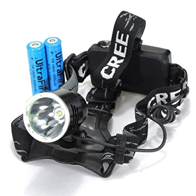 1600Lm CREE XML T6 Rechargeable Bike Bicycle LED Headlamp