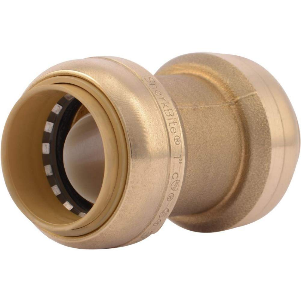 CPVC Push-to-Connect Coupler 1//2 Inch Straight Coupling Plumbing Fitting PEX Fittings Pack of 5 Copper
