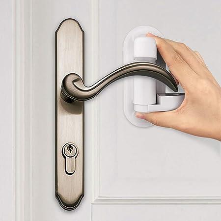 4 Packs Door Lever Lock Bebe 1st Upgrade Child Proof Door