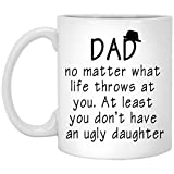 Best Dad  Cups - Dad to daughter Funny Coffee Cup Mug Review