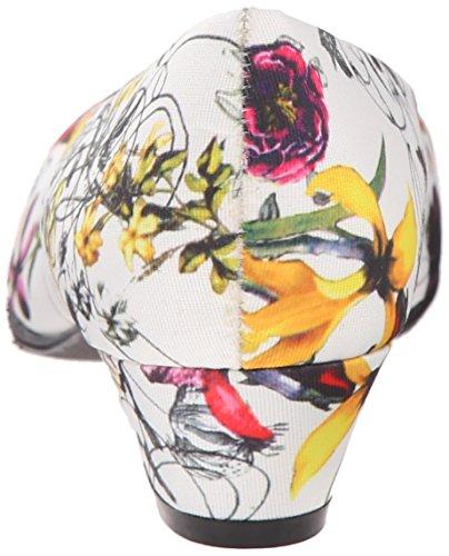Doux Style Womens Ange Ii Pompe Blanc Printemps Grosgrain