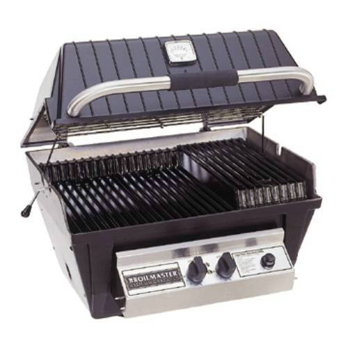 Broilmaster P4X Grill Head, Premium Black Natural Gas