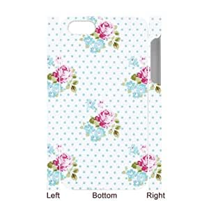 Retro Floral Series Personalized 3D Cover Case for Iphone 4,4S,customized phone case ygtg599457