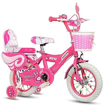 Geekbot Bicicletta Per Bambina 12 Pollici Bambino Di 3 8 Anni Pneumatico Gonfiabile Sedile Comfortable Piccolo Pagné