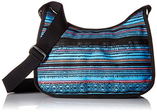 Blue LeSportsac Handbag Stripe Classic Sea Hobo Pnxn7w