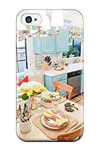 Diy Yourself Blue Cabinetry In Kitchen And Breakfast Nook case cover Compatible With iPhone 6 4.7/ Hot protective TheweRFuAol case cover