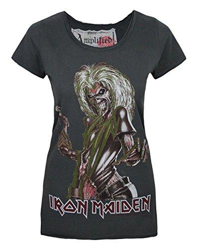 vestiti shirt Iron con amplificati T Maiden Femmes XwC5BxRqw