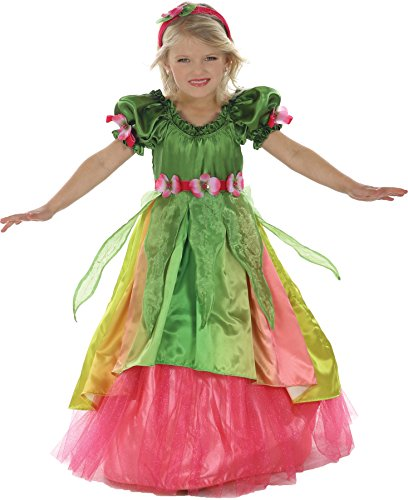 Girls Eden Garden Princess Kids Child Fancy Dress Party Halloween Costume, S -