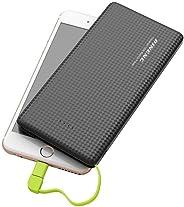 Carregador Original Portátil 10.000 MAh Pineng Power Bank Slim compatível com Smartphone da ASUS Zenfone