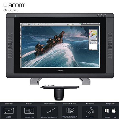 Wacom Cintiq 22HD 22' HD, Interactive Graphics Pen Display (Renewed) (Wacom Cintiq Hd)