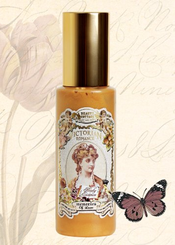 Perfumed Shimmer Lotion - Victorian Romance Memories of Love Perfumed Shimmer Glow Body Essence