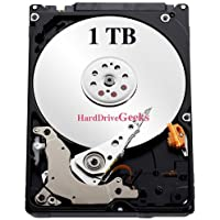 1TB 7200rpm 2.5 Laptop Hard Drive for Gateway CX210X CX2608 CX2618 CX2728 M-1626 M-6844 M-6862 M-6881 M465-E M685-E ML6725 MT6706 MT6834B MT6916 MX6216 MX6930 MX6959 MX8741 NV52 P-6831FX T-1623 T-1628H T-1631 T-6330U T-6842H Laptops