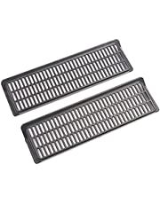 FAKEME Car Auto Under Seat Air Vent Protective Cover Air Flow Vent, Grille Protector Trim, for Tesla Model Y Accessories
