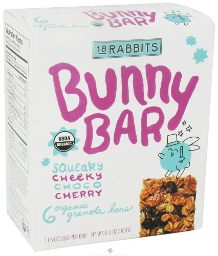 18 Rabbits Jr. Organic Granola Bars