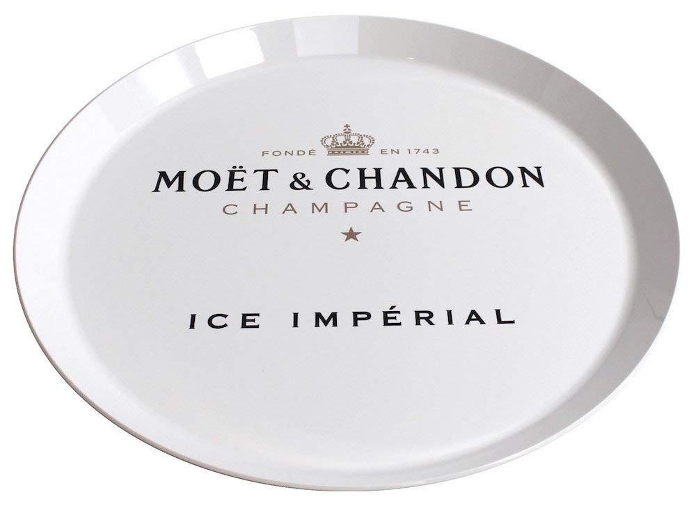 Moet /& Chandon Ice Imperial Fl/ûte /à Champagne Flottante avec Pompe /à air et Plateau Floating Bar Moët /& Chandon