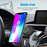 Magnetic Mount, WizGear Universal Twist-lock Air vent Magnetic Car Mount Holder, for Cell Phones and Mini Tablets with Fast Swift-snap Technology (Twist Lock)
