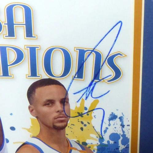 Stephen Curry & Kevin Durant Autographed Signed Framed Magazine AD28627 PSA/DNA Certified Autographed NBA Magazines
