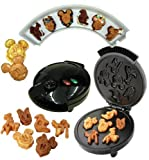 5 in 1 waffle maker - Disney Mickey &Gang 5 in 1 Tasty Baker Waffle Maker,Bakes Pancake,Muffins, breads, cakes, and brownies by Disney