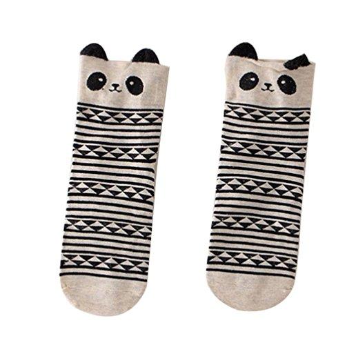 Hot Sale!!! Christmas Socks,Jushye Cute Lovely Cartoon Animal Zoo Women Socks Ladies Girls Cotton Warm Soft Sox (Black) ()