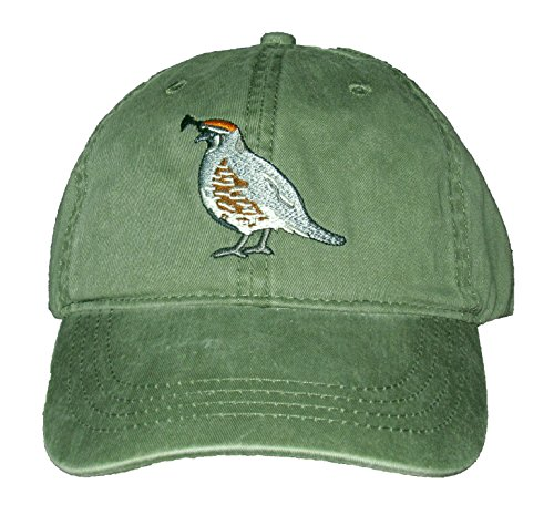 Tom's Bird Feeders Gambel's Quail Embroidered Cotton Cap - 169 Tom