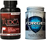 Premium Cycle Support Stack! Forged Liver Support, TUDCA - Heart, Cholesterol, NAC, Organ Shield by Transform Supplements and Premium Powders