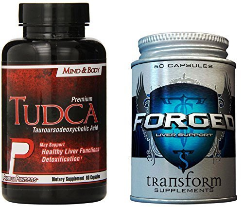 Premium Cycle Support Stack! Forged Liver Support, TUDCA - Heart, Cholesterol, NAC, Organ Shield by Transform Supplements and Premium (Organ Shield)