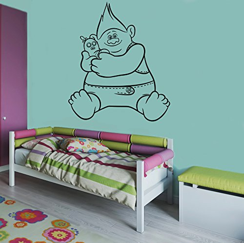 Trolls Biggie and Mr Dinkles Cool Wall Decal