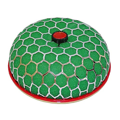 Reloaded Air - YUSHHO56T Air Filter Air Intake System Filter 100mm Auto Car Flow Reloaded Mushroom Air Filter Washable Power Intake Cleaner - Green Red