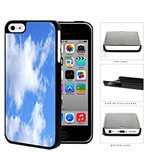 Prairie Scenery Cloud Patches In Blue Sky Hard Plastic Snap On Cell Phone Case Apple iPhone 5c