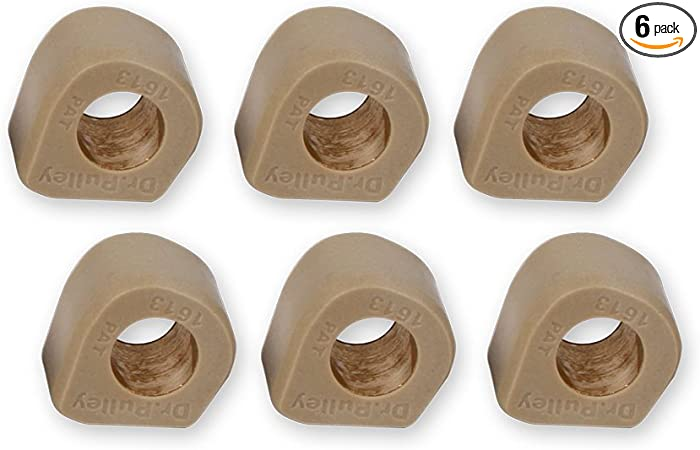 6x 8.5g Performance Roller Weights fit for GY6 50 Chinese Scooter Moped