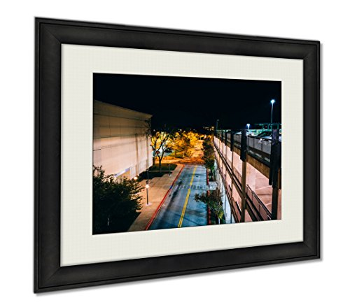 Ashley Framed Prints Night View From A Parking Garage In Columbia Maryland, Wall Art Home Decoration, Color, 30x35 (frame size), - In Columbia Maryland Mall Columbia