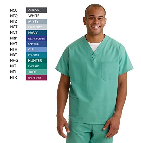 Medline Reversible Scrub Pocket Latex