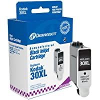 Dataproducts DPCK30BXL High Yield Remanufactured Ink Cartridge Replacement for Kodak 30XL (Black) Ink