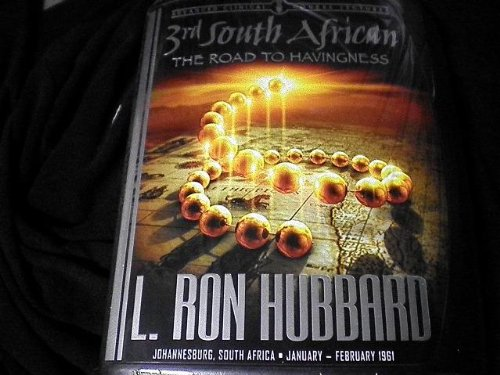 Book cover from 3rd South African the Road to Havingness (advanced clinical course lectures) by L. Ron Hubbard