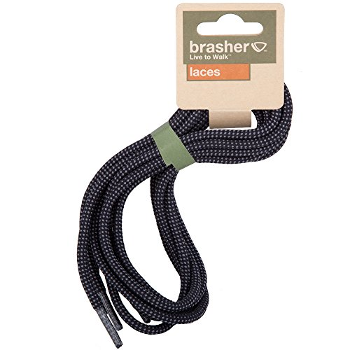 Brasher Strong Replacement Hiking/Walking Boot Laces Blue/Black II1vJH