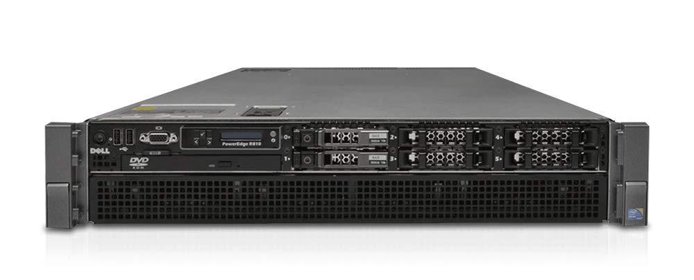 Dell PowerEdge R810 Server | 4X E7-4870 40 Cores | 128GB | H700 | 6X 600GB 10K (Renewed) by PowerEdge