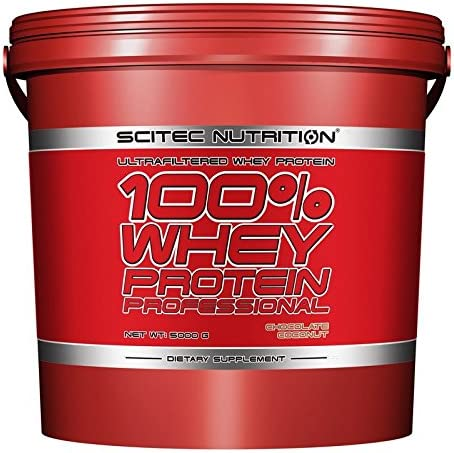 SCITEC Nutrition 100% Whey Protein Professional - 5 Kg ...