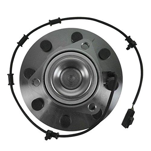 Front Wheel Bearing Hub Assembly Pair Set for Dodge Ram Pickup 2500 3500 2WD