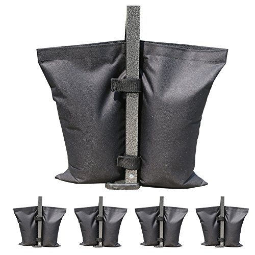 ABCCANOPY Industrial Grade Weights Bag, Leg Weights for Pop up Canopy 4pcs-pack (Canopy Accessory)