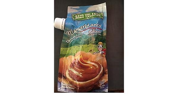 Amazon.com : Bazo Velarde Manjar Blanco (Dulce de Leche) - Manjarblanco - 200 g : Grocery & Gourmet Food