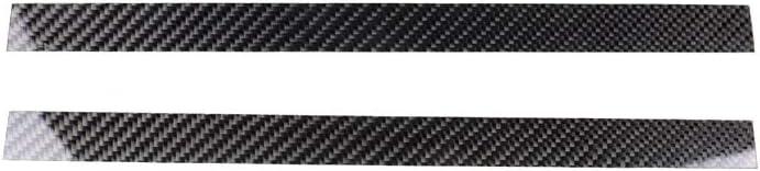 Carbon Fiber Dashboard Interior Decoration Decal Frame Cover Trim Sticker for BMW 5 Series F10 F11 F07 F18 2011-2017 RRX i-Drive Media Control Dashboard Frame Trim 1MT