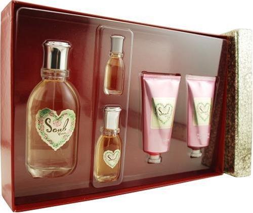 Curve Soul By Liz Claiborne For Women, Set-eau De Parfum Spray, 3.4-Ounce Bottle & Body Lotion, 2.5-Ounce Bottle & Shower Gel, 2.5-Ounce Bottle & Perfume Spray, .18-Ounce Bottle & Parfum Purse Spray, .5-Ounce Bottle