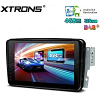XTRONS 8 Inch Octa Core Android 6.0 Multi Touch Screen Car Stereo Player GPS for Mercedes-Benz C-Class W203