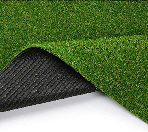 XEWNEG 15MM庭人工芝、暗号化された防水ノンスリップ涙耐性が簡単にきれいな、屋外バルコニー屋根壁の装飾のために、幅2メートル (Size : 2x9M)